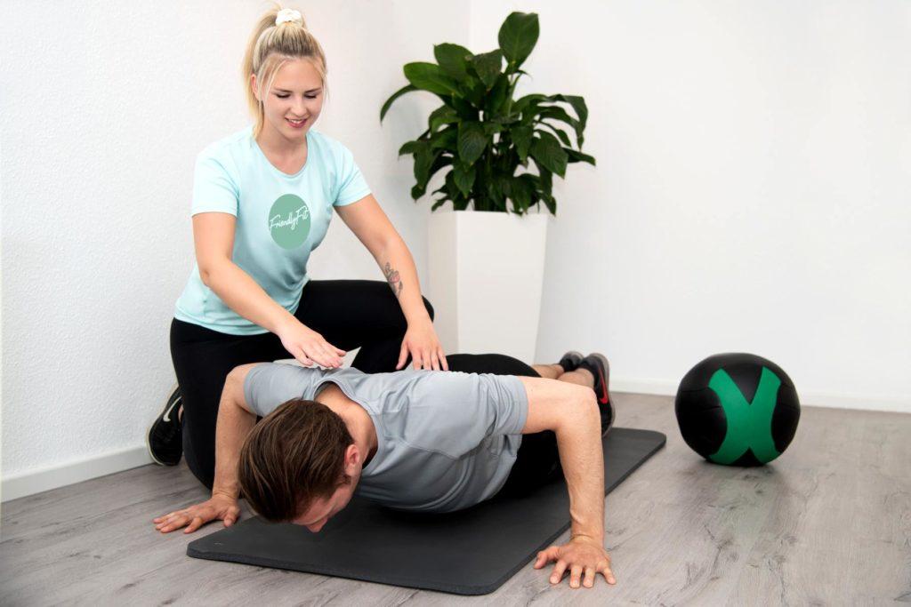 Personal Training friendlyfit boden trainerin